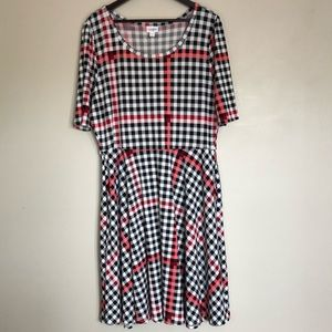LuLaRoe Nicole Dress with Pockets